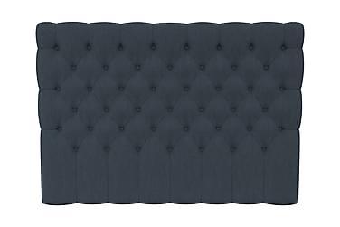 SINNEBO Sänggavel 180 Djuphäftad Mörkblå