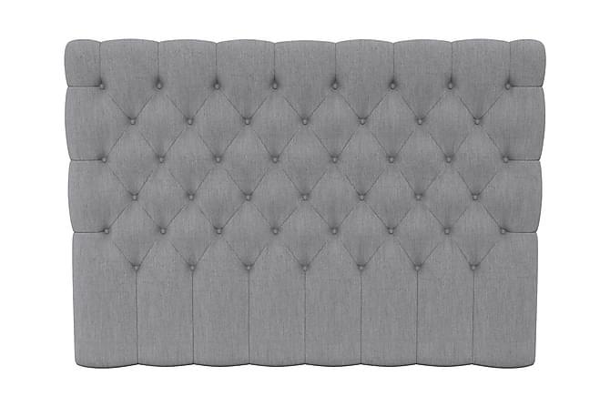 SINNEBO Sänggavel 210 Djuphäftad Ljusgrå - Möbler & Inredning - Sängar - Sänggavlar