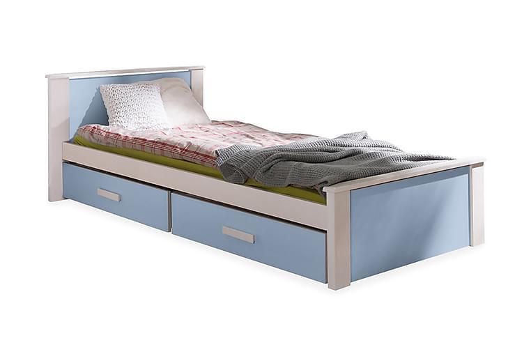 BRAZILEIRA Enkelsäng 80x180 cm Blå - Blå - Möbler & Inredning - Sängar - Sängram & sängstomme