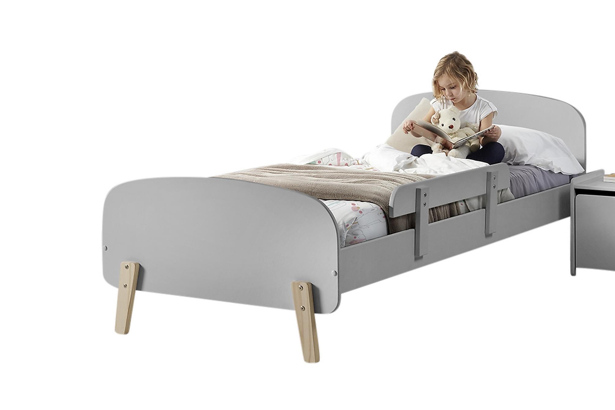 HIPSTOP Sängram Säkerhetsbräda Grå, Möbelset för sovrum