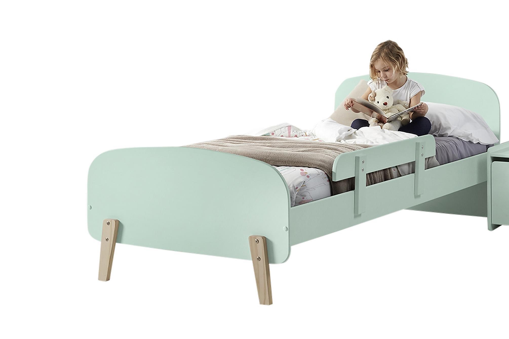 HIPSTOP Sängram Säkerhetsbräda Grön, Möbelset för sovrum