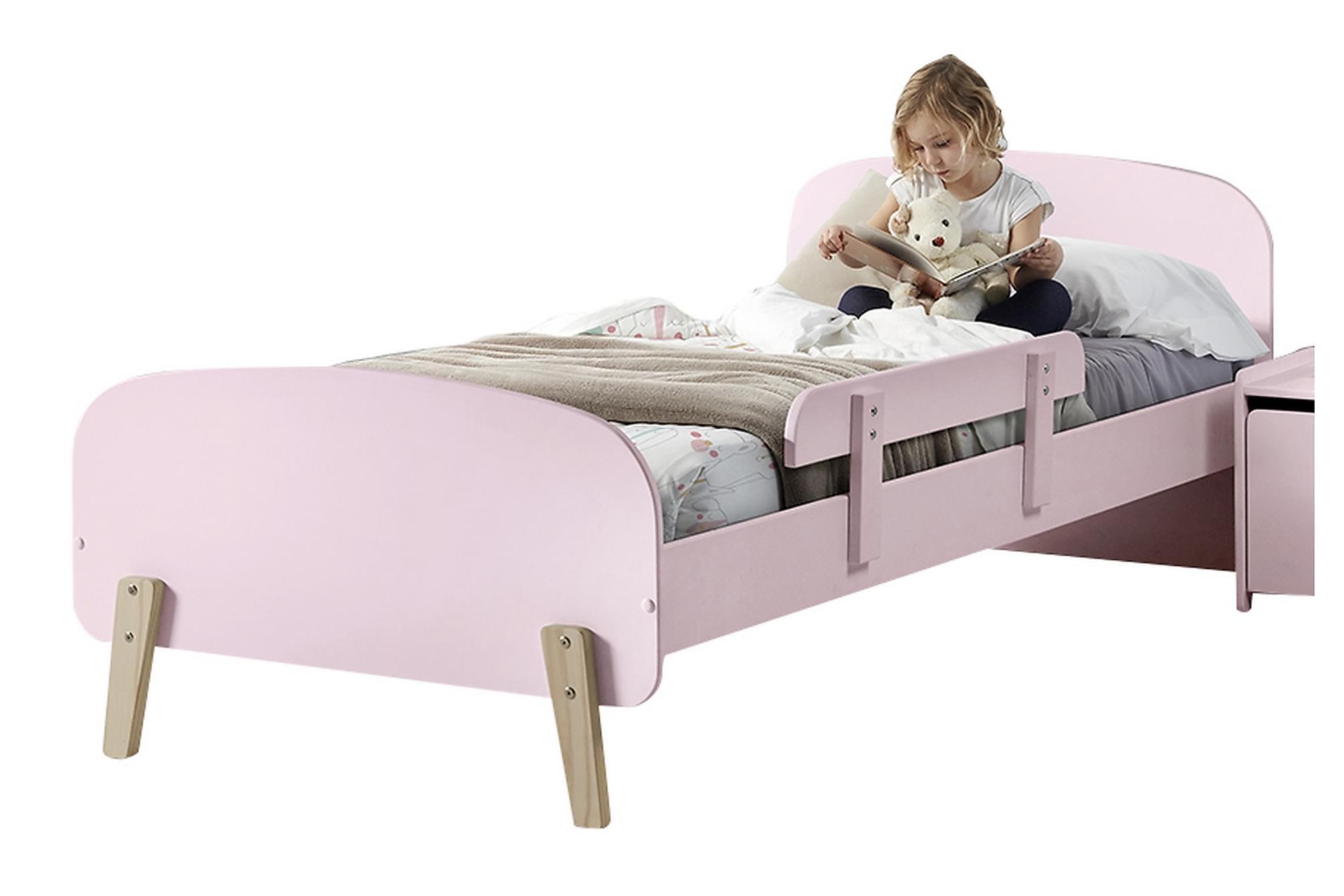 HIPSTOP Sängram Säkerhetsbräda Rosa, Möbelset för sovrum