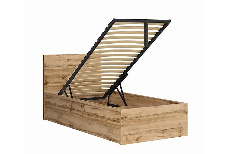 TOMARES Sängram 90x200 cm med Förvaring - Möbler & Inredning - Sängar - Sängram & sängstomme
