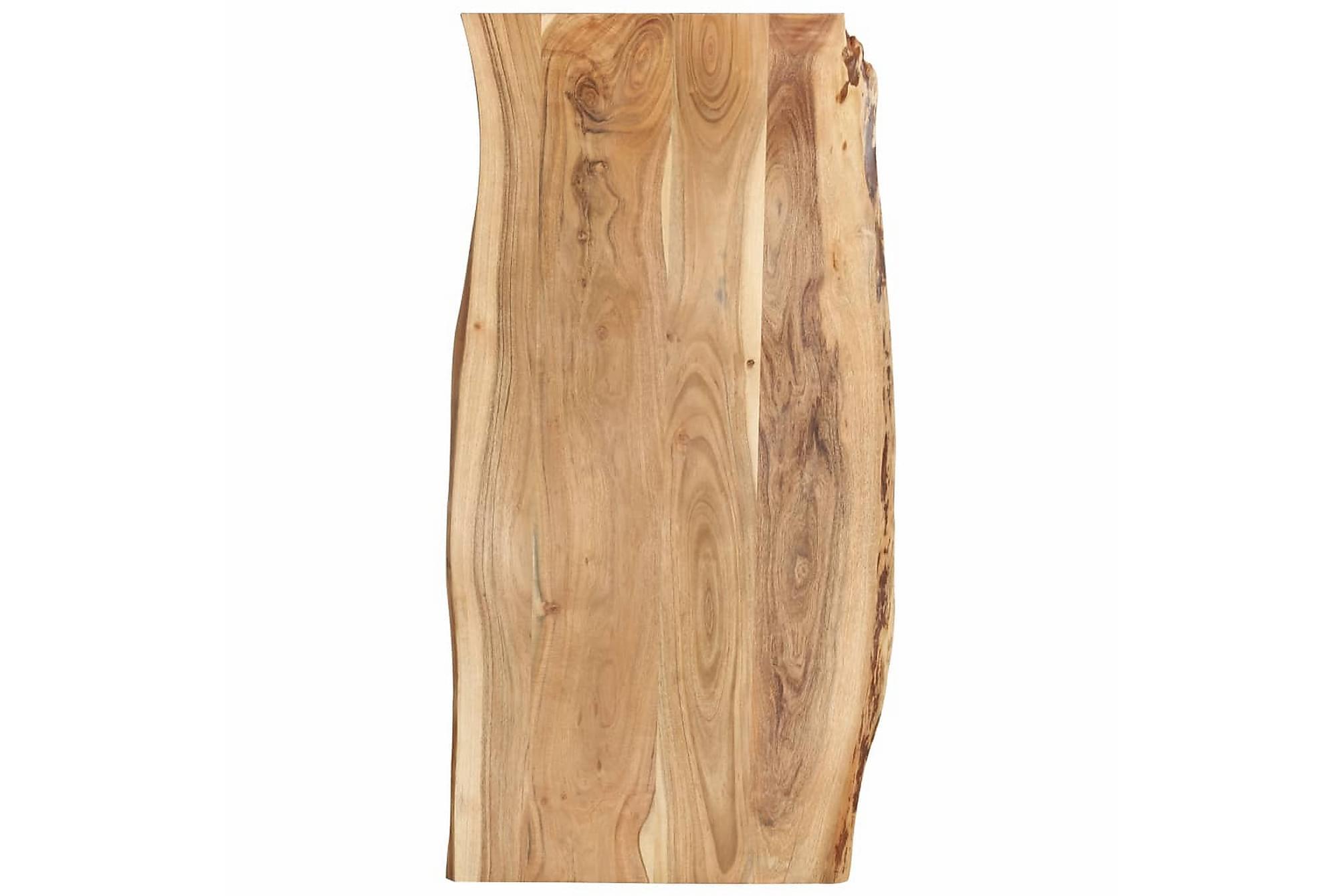 Bordsskiva massivt akaciaträ 120x60x2,5 cm, Bordsben & tillbehör