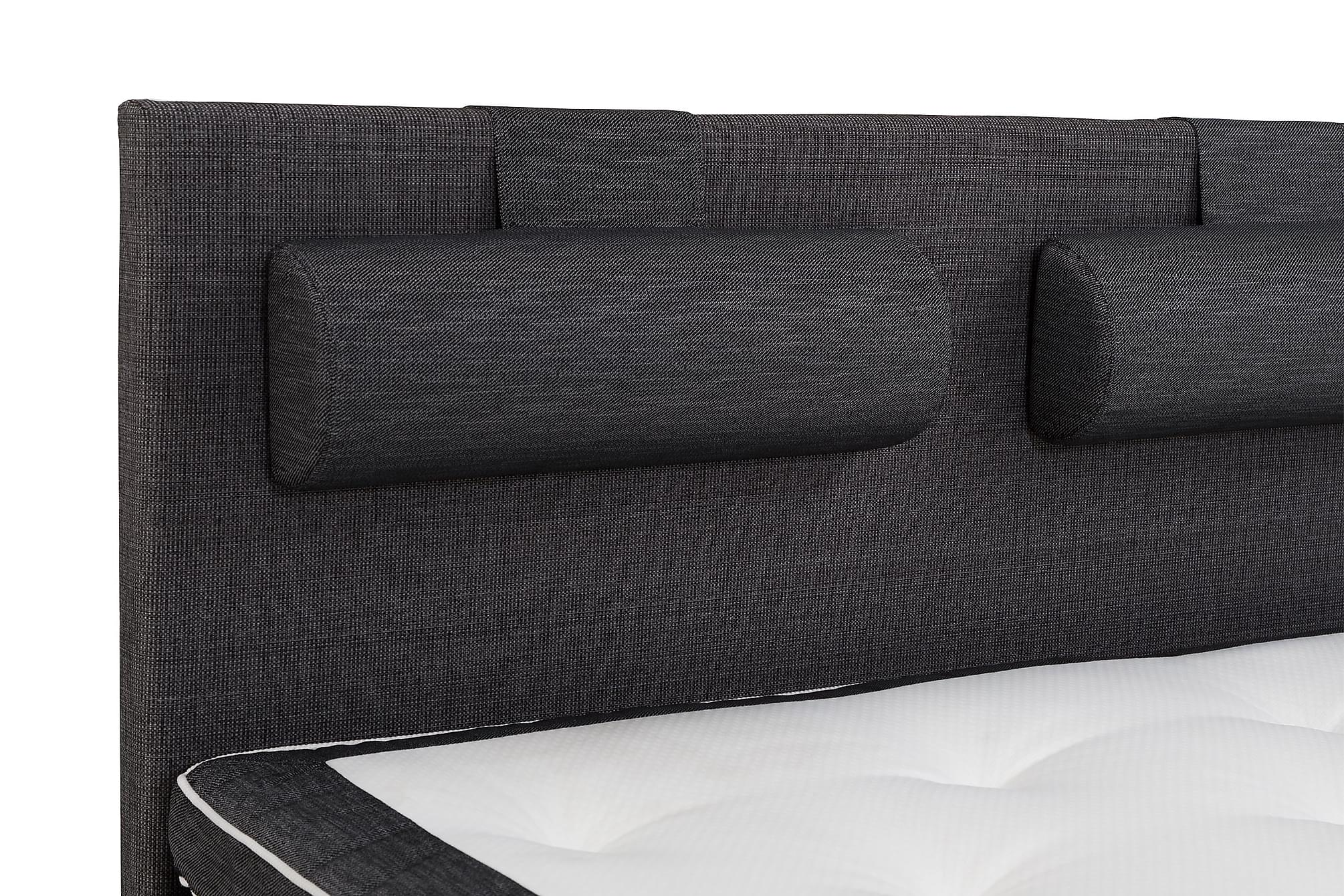 LUX Stor Nackkudde Ancona grå 2-pack – Paketpris