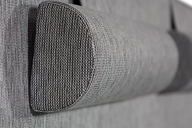 LUX Stor Nackkudde Ljusgrå 2-pack - Paketpris