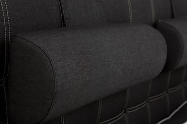 LUX Stor Nackkudde Svart Jeans 2-pack - Paketpris
