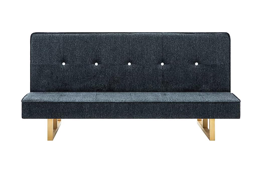 Bäddsoffa tyg mörkgrå - Grå - Möbler & Inredning - Soffor - Bäddsoffor