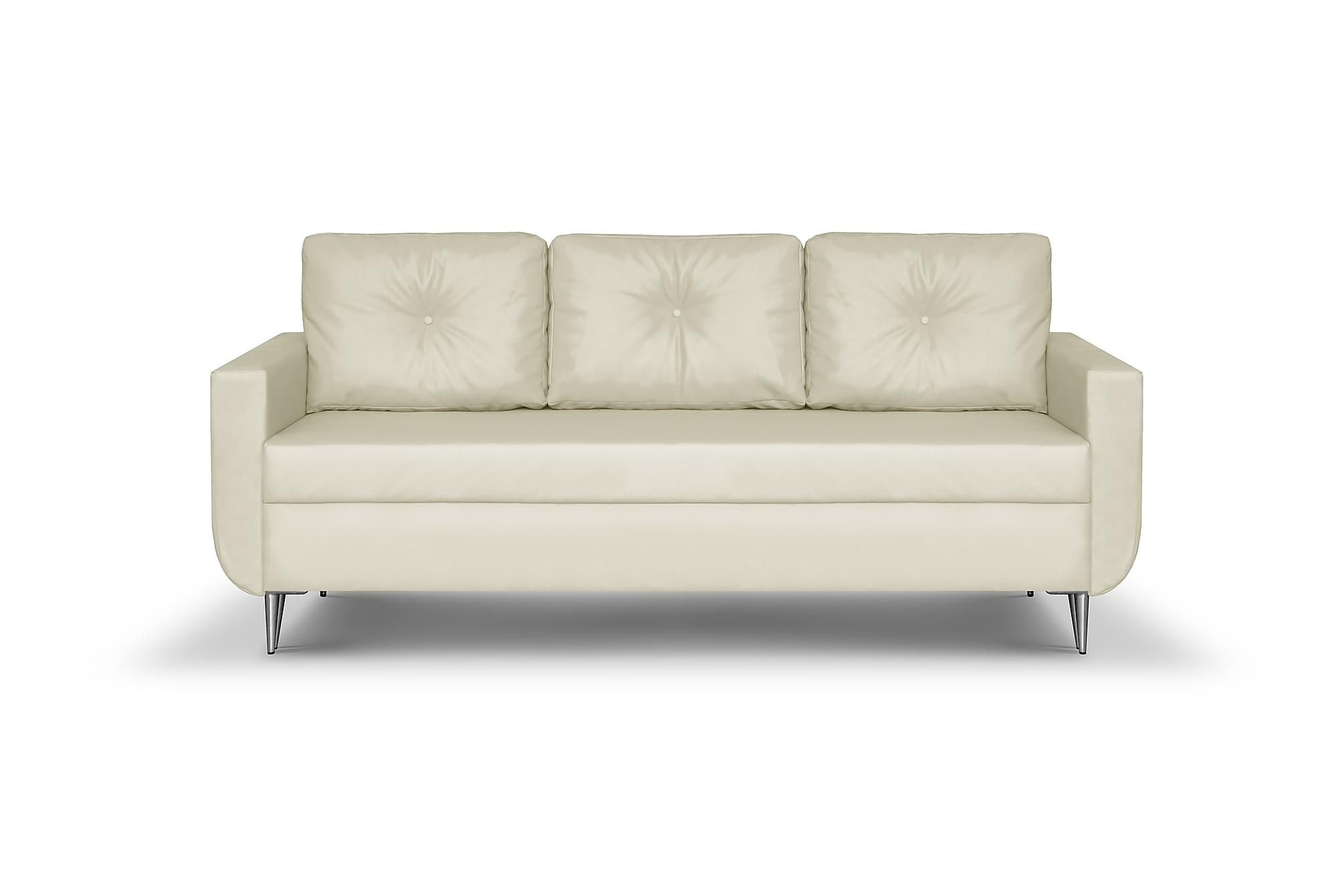 ALIOLLE 3-sits Soffa Beige
