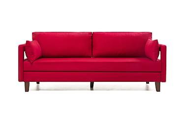 REPUBLICA Bäddsoffa 3-sits Röd