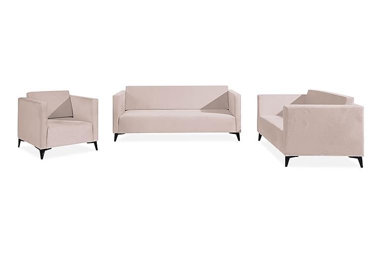 SZAFIR Vardagsrumsset Rosa - Rosa - Möbler & Inredning - Möbelset - Möbelset för vardagsrum