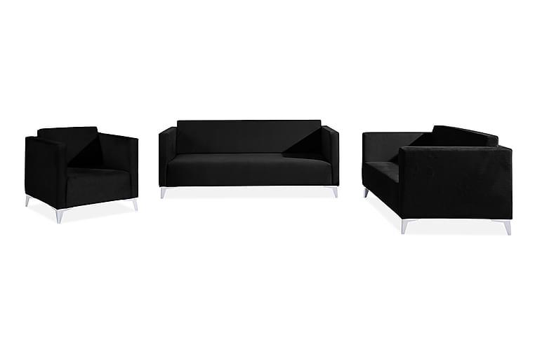 SZAFIR Vardagsrumsset Vit/Högglans - Vit/Högglans - Möbler & Inredning - Möbelset - Möbelset för vardagsrum