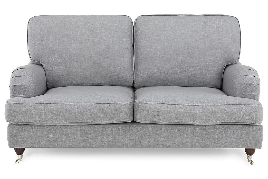 LYNN 2-sits Soffa Chenille Ljusgrå - Skräddarsy färg och tyg - Möbler & Inredning - Soffor - Howardsoffor