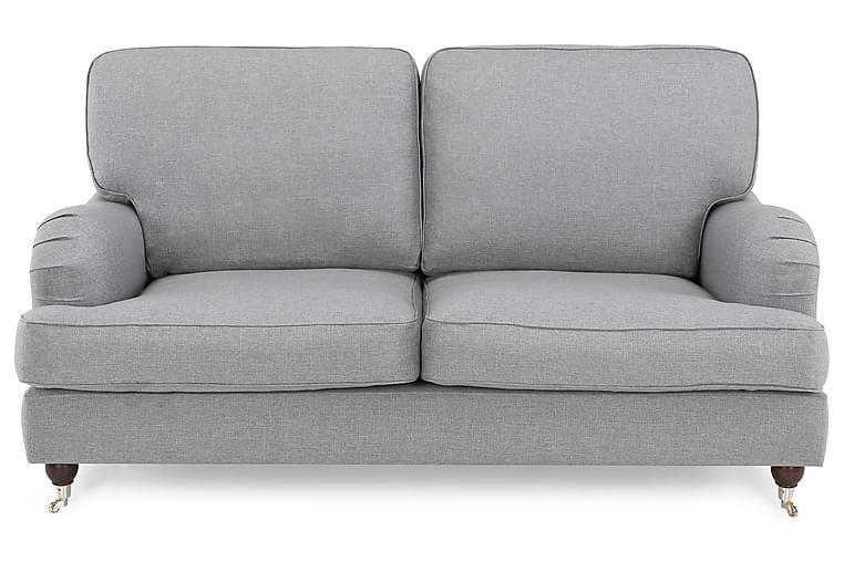 LYNN 2-sits Soffa Finvävt Tyg Ljusgrå - Skräddarsy färg och tyg - Möbler & Inredning - Soffor - Howardsoffor
