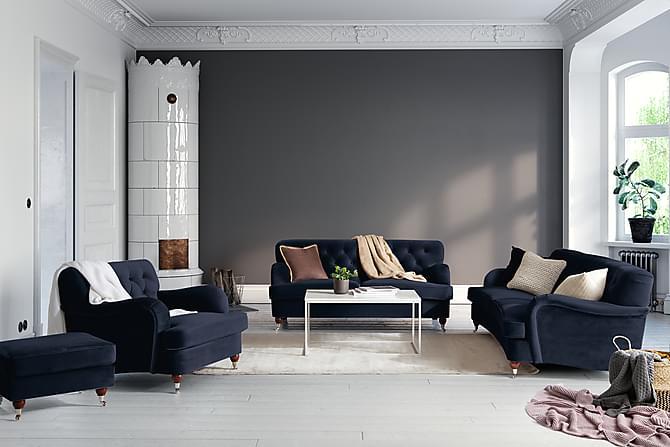 NOTTING HILL 2-sits Soffa Sammet Midnattsblå - Möbler & Inredning - Soffor - 2-sits soffor