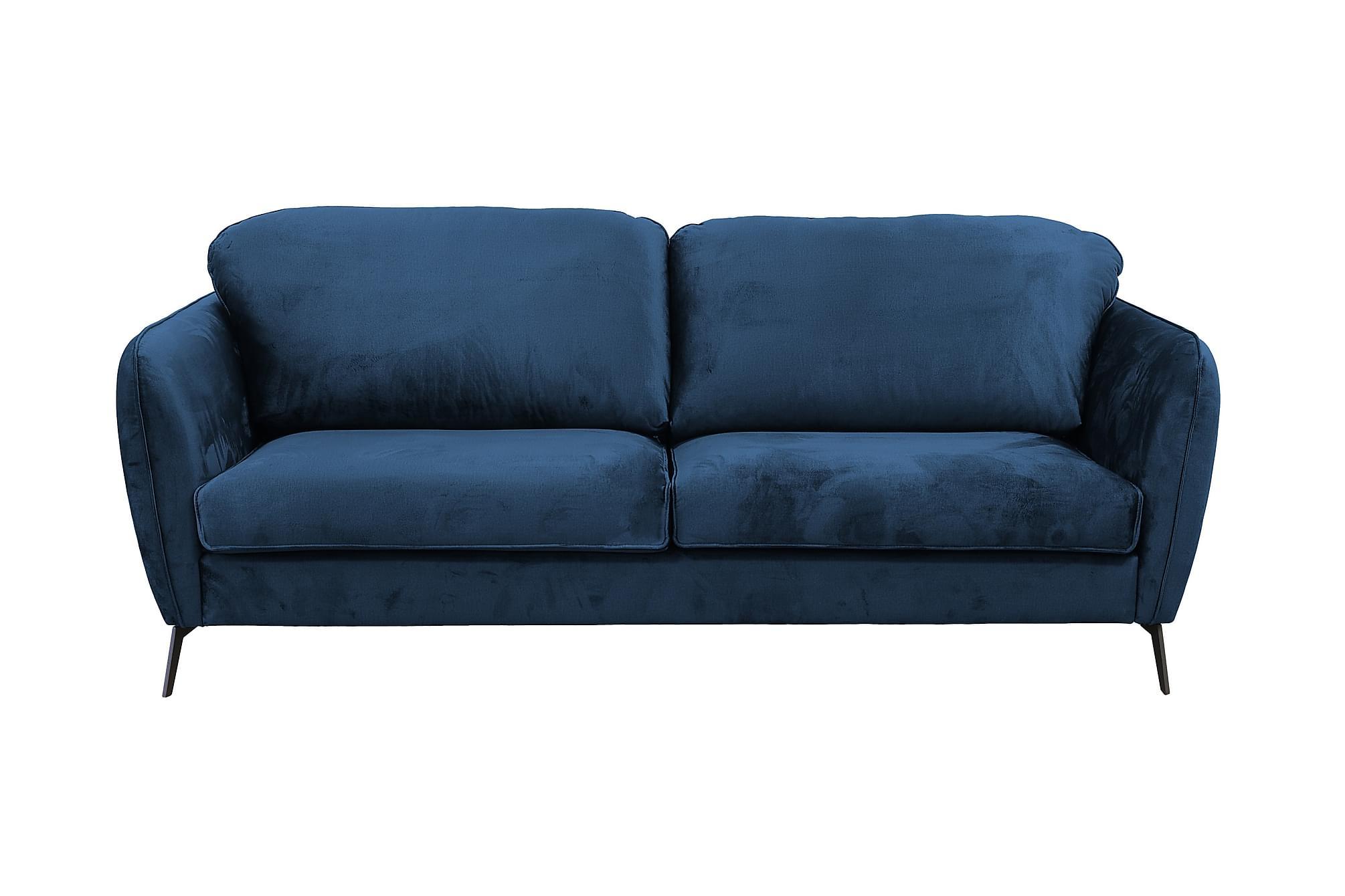 BRUVIK 3-sits Soffa Blå