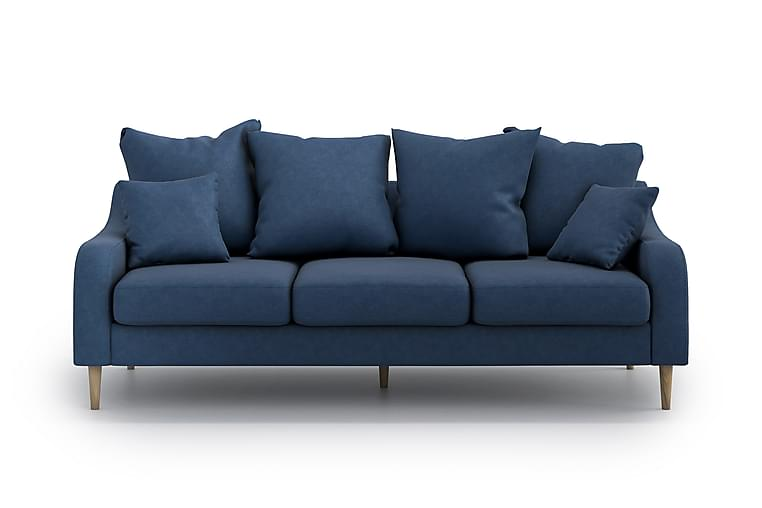 MIKAELI 3-sits Soffa Blå - Möbler & Inredning - Soffor - 3-sits soffor