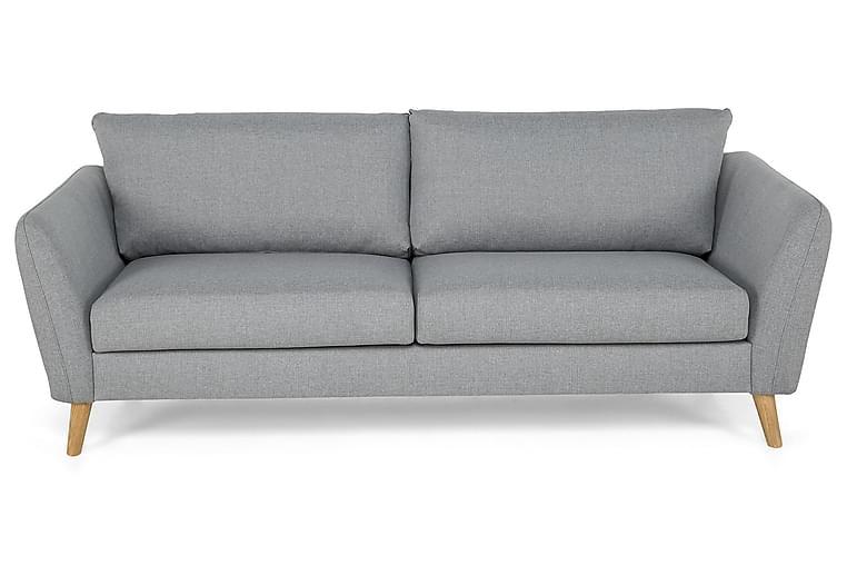 OSCAR 3-sits Soffa Finvävt Tyg Brun - Skräddarsy färg och tyg - Möbler & Inredning - Soffor - 3-sits soffor