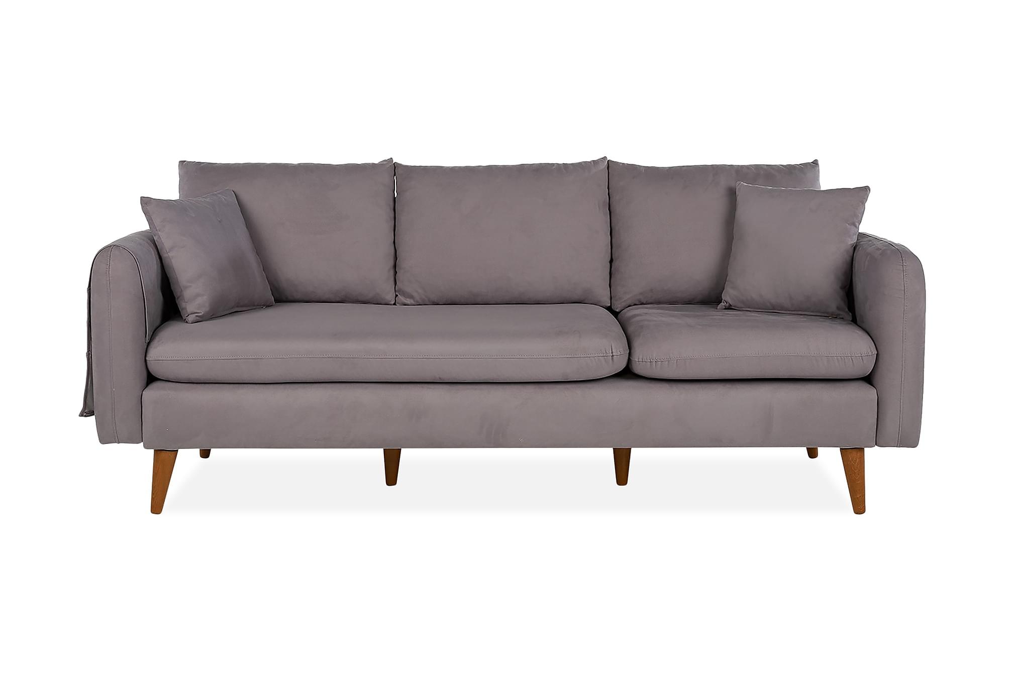 REECIE 3-sits Soffa Grå
