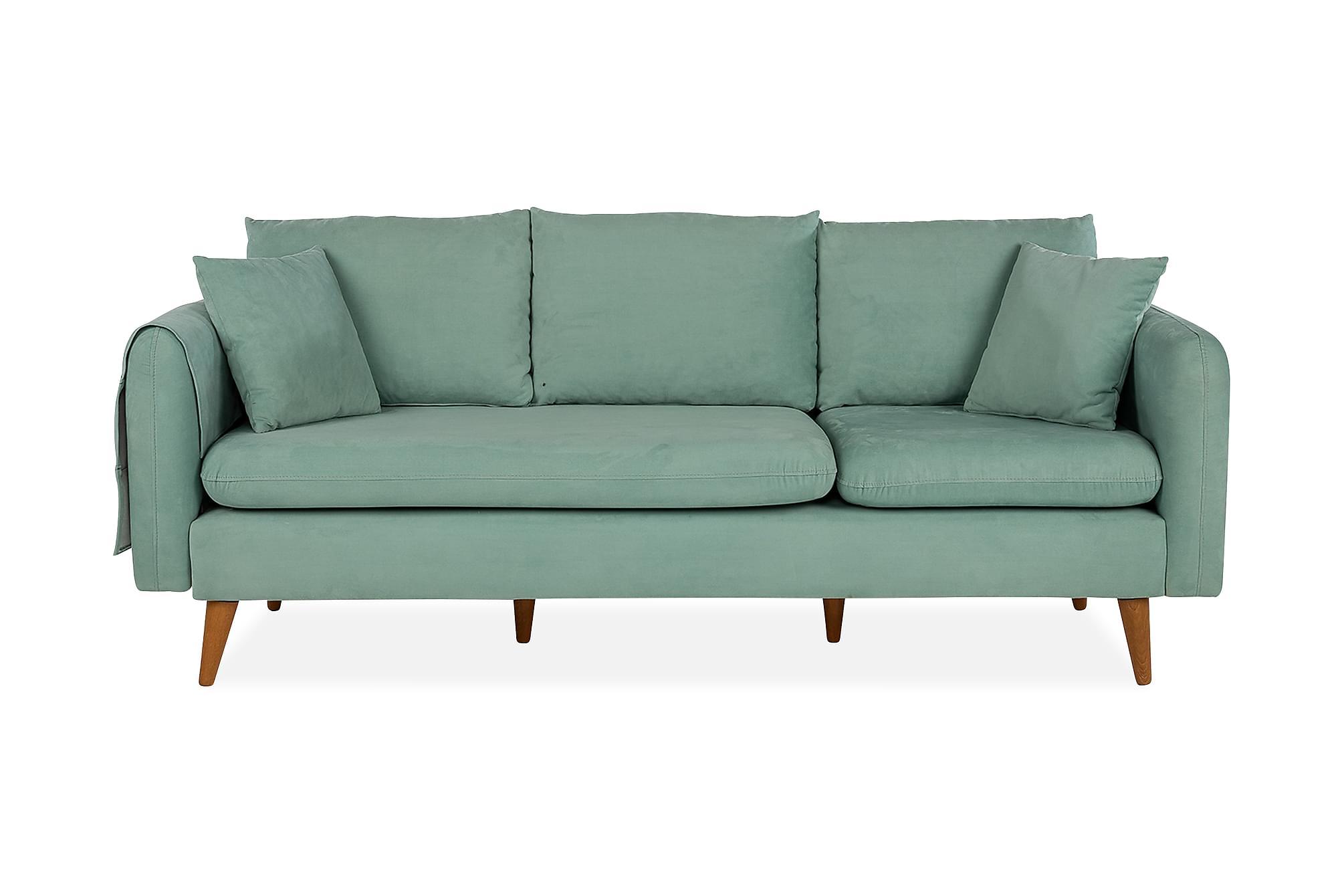 REECIE 3-sits Soffa Grön
