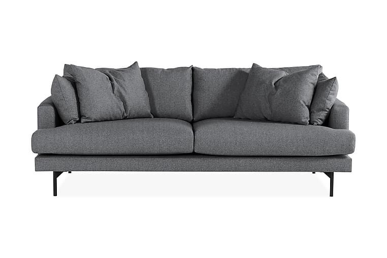 CONCAN 4-sits Soffa Mörkgrå/Svart - Möbler & Inredning - Soffor - 4-sits soffor