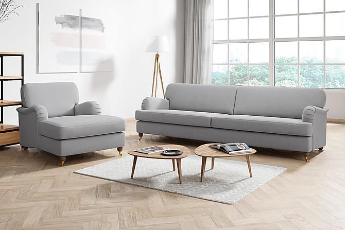 LYNN 4-sits Soffa Ljusgrå - Möbler & Inredning - Soffor - Howardsoffor
