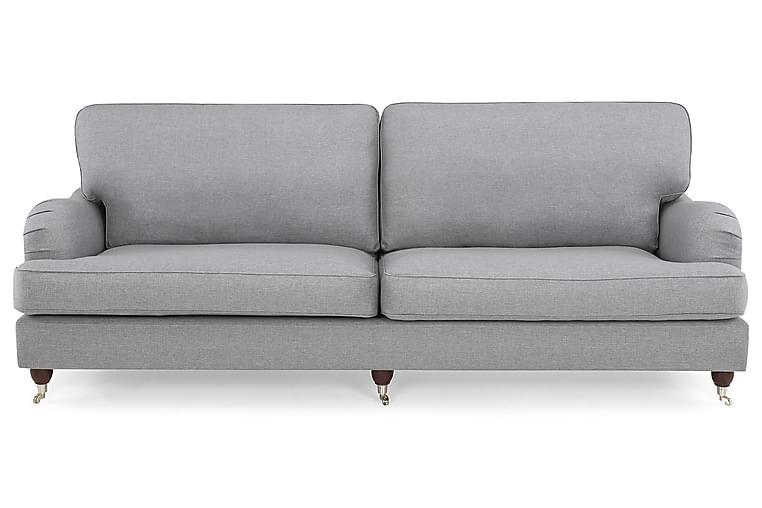 LYNN 4-sits Soffa Sammet Blå - Skräddarsy färg och tyg - Möbler & Inredning - Soffor - Howardsoffor