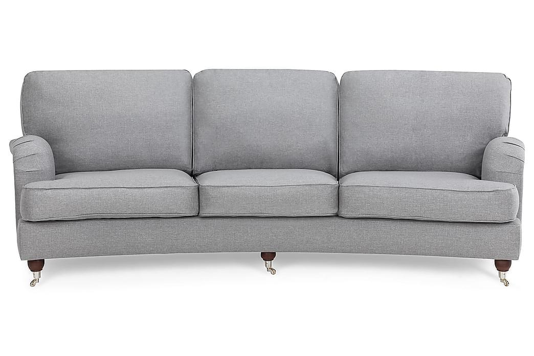 LYNN 4-sits Soffa Svängd Ullimitation Blå - Skräddarsy färg och tyg - Möbler & Inredning - Soffor - Howardsoffor