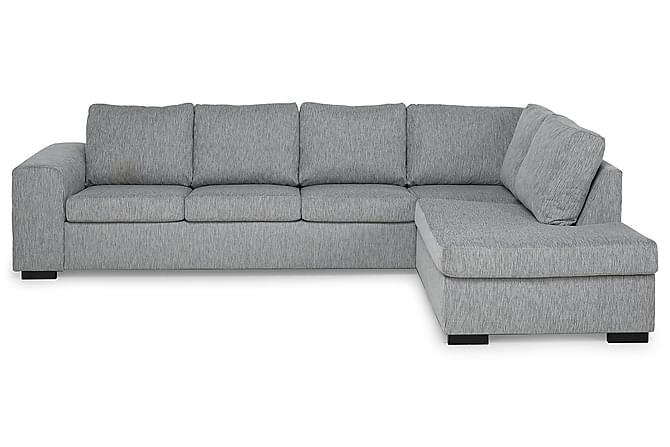 CONNECT 4-sits med Schäslong Höger Finvävt Tyg Beige - Skräddarsy färg och tyg - Möbler & Inredning - Soffor - 4-sits soffor