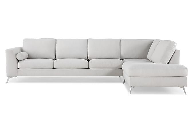 NASHVILLE LYX 4-sits Soffa med Schäslong Höger Linnebeige - Möbler & Inredning - Soffor - Divansoffor