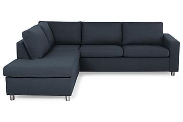 NEW YORK 2,5-sits Soffa med Schäslong Vänster Mörkblå