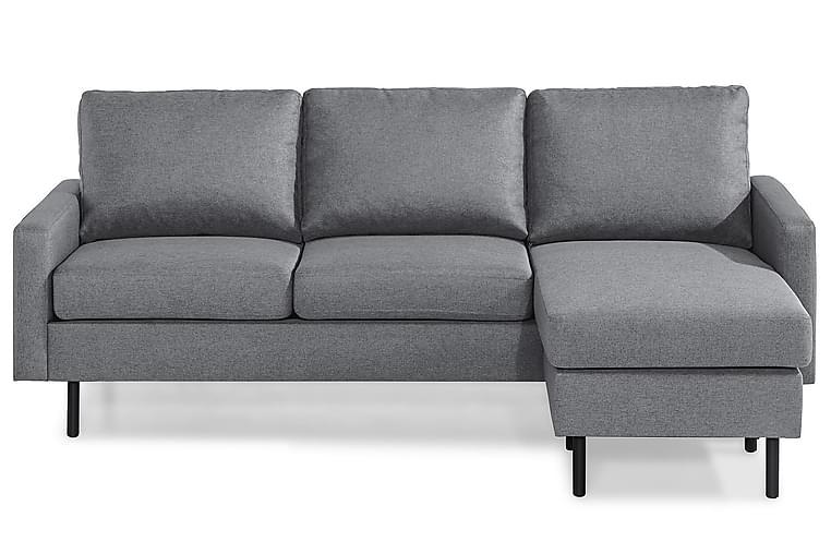 RACKO 3-sits Soffa med Divan Vändbar Linnelook Brun - Skräddarsy färg och tyg - Möbler & Inredning - Soffor - Divansoffor