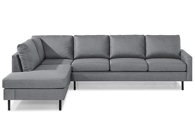 RACKO 3-sits Soffa med Schäslong Vänster Grovvävt tyg Gul - Skräddarsy färg och tyg - Möbler & Inredning - Soffor - 3-sits soffor