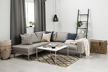 RIMELLA 4-sits Soffa med Schäslong Vänster Ljusgrå