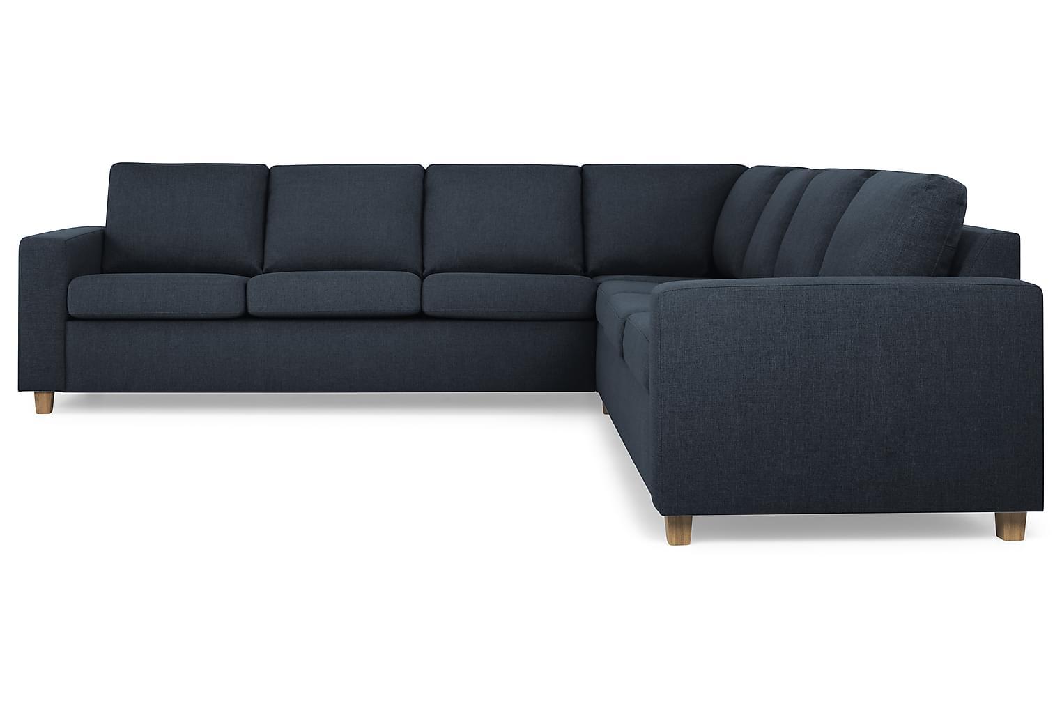 New NEW YORK XL Hörnsoffa Mörkblå -