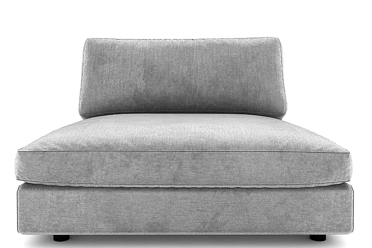 ALSTAD Divan Grovvävt tyg Ljusgrå - Skräddarsy färg och tyg - Möbler & Inredning - Soffor - Modulsoffor