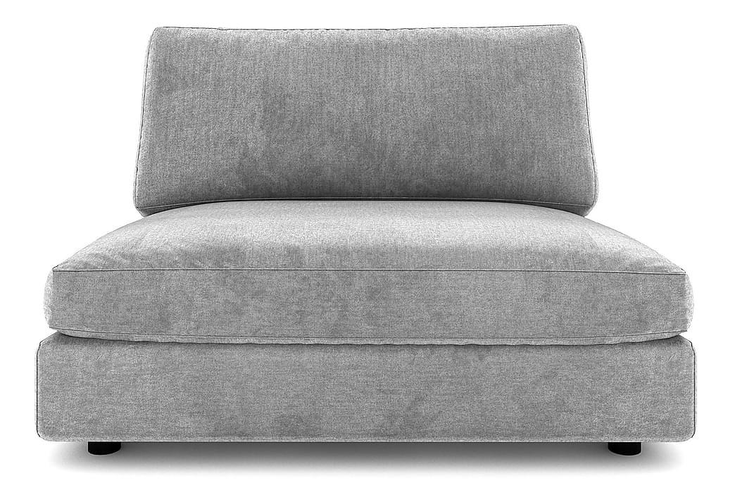 ALSTAD Mittmodul 120 cm Finvävt Tyg Ljusgrå - Skräddarsy färg och tyg - Möbler & Inredning - Soffor - Modulsoffor