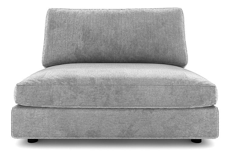 ALSTAD Mittmodul 120 cm Sammet Blå - Skräddarsy färg och tyg - Möbler & Inredning - Soffor - Modulsoffor