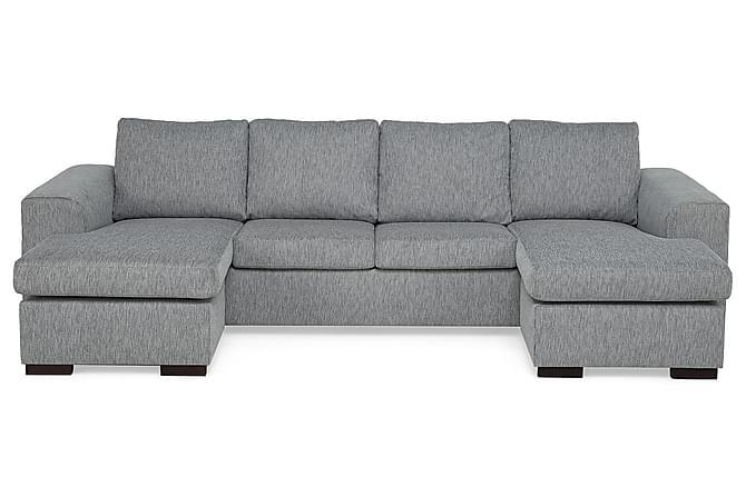 CONNECT Dubbeldivansoffa 4-sits Ullimitation Blå - Skräddarsy färg och tyg - Möbler & Inredning - Soffor - 4-sits soffor