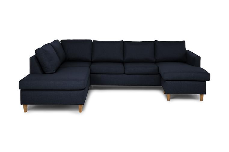 JAN U-soffa med Divan Höger Blå - Möbler & Inredning - Soffor - U-soffor