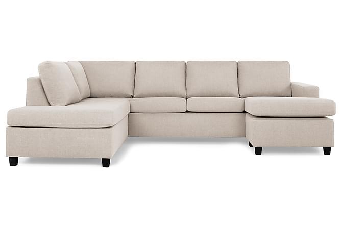 NEW YORK U-soffa Large Divan Höger Beige - Möbler & Inredning - Soffor - U-soffor