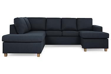 NEW YORK U-soffa Large Divan Höger Mörkblå