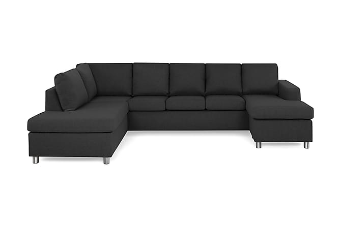 NEW YORK U-soffa XL Divan Höger Antracit - Möbler & Inredning - Soffor - Divansoffor