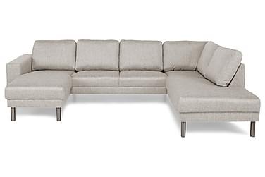 RIMELLA U-soffa med Divan Vänster Beige