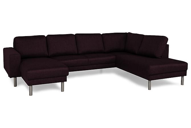 RIMELLA U-soffa med Divan Vänster Lila - Inomhus - Soffor - U-soffor