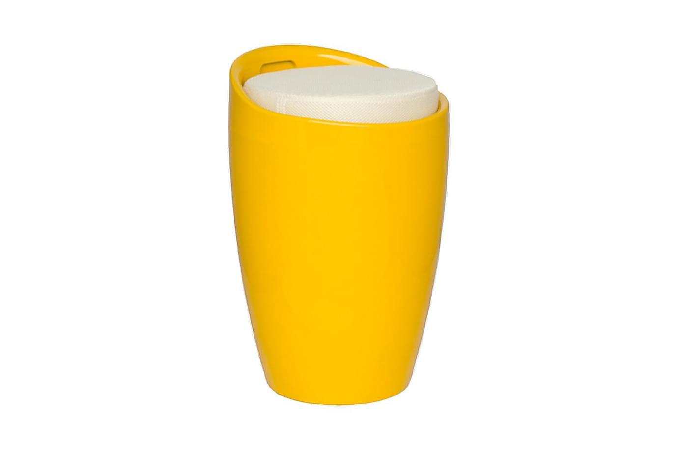 Norrsvedje barrel pall gul/beige