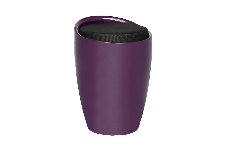 Norrsvedje barrel pall lila/svart