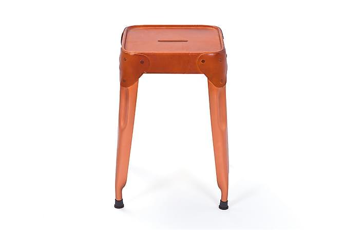 REEMA Pall 4-pack Koppar/Läder - Inomhus - Stolar - Pallar