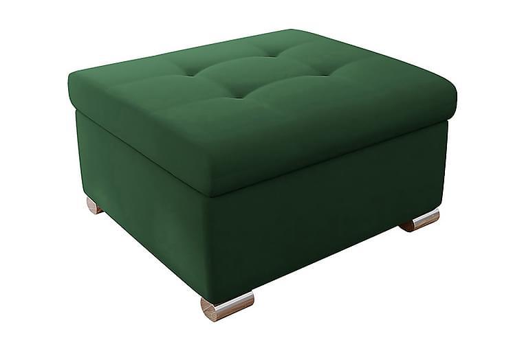 VILLOSA Puff Grön/Sammet - Möbler - Vardagsrum - Stolar & sittmöbler - Sittpuff