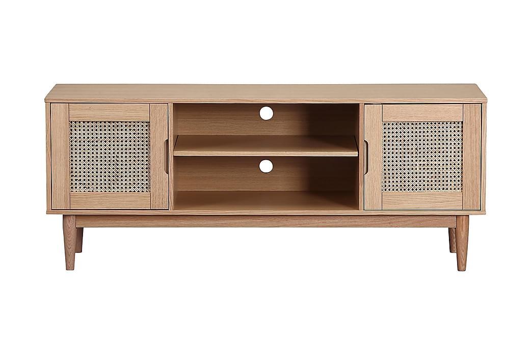 NIACK TV-Bänk 150 cm Brun - Möbler & Inredning - Mediamöbler - Tv-bänkar
